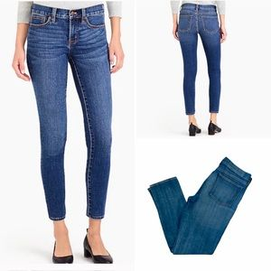 NWOT J. CREW Mid-Rise Stretch Jeans